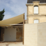 img TOILE DE PROTECTION DE VENDANGES par GRAND VOILE - Bois et Aluminium